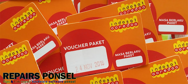 Cara isi Ulang Voucher Internet Indosat ooredoo