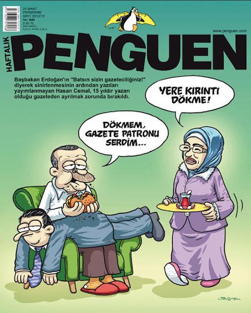 """Batsın sizin gazeteciliğiniz!"" R.T.E Hasan Cemal'in kovulması."