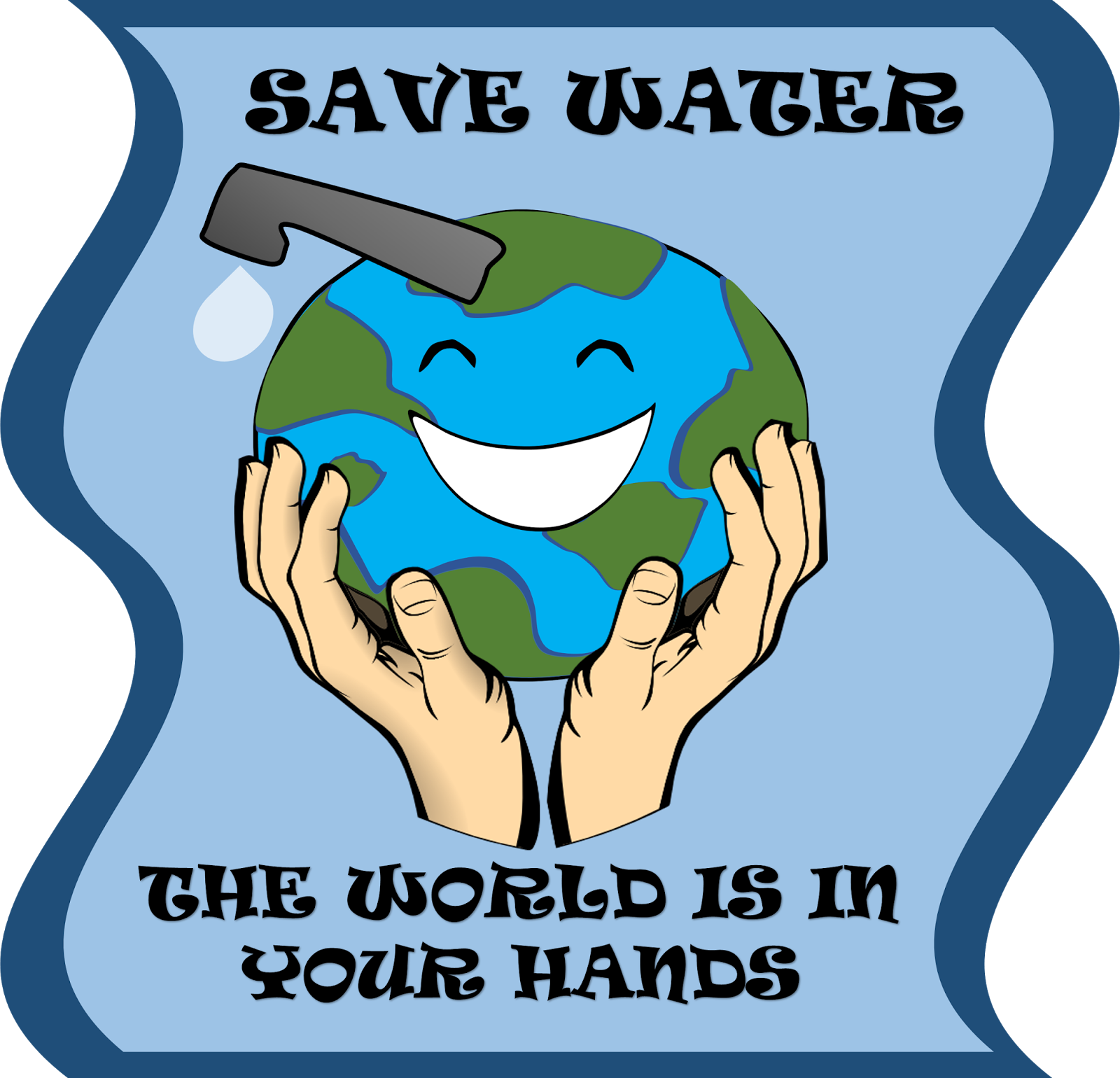 Save Water Clipart Free 105