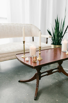 candle table props