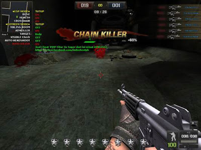 Detik kemudian klik visit link berwarna merah 27 Mei 2018 - Tirosin 2.0 Point Blank Garena Wallhack, ESP Mode, Auto Headshoot, 1 Hit, Aimbullet, Auto Killer, No Recoil, Full Mode VVIP