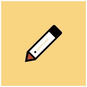 La Tulipe Eyebrow Pencil (Pensil Alis) Brown