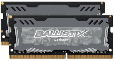 Ballistix Sport LT 2x8GB DDR4 2400 (260-pin)