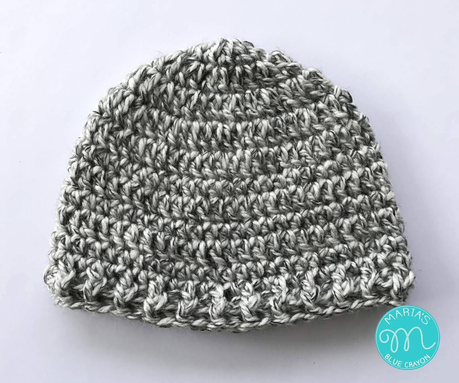 Basic Chunky Beanie Crochet Pattern - Maria\'s Blue Crayon