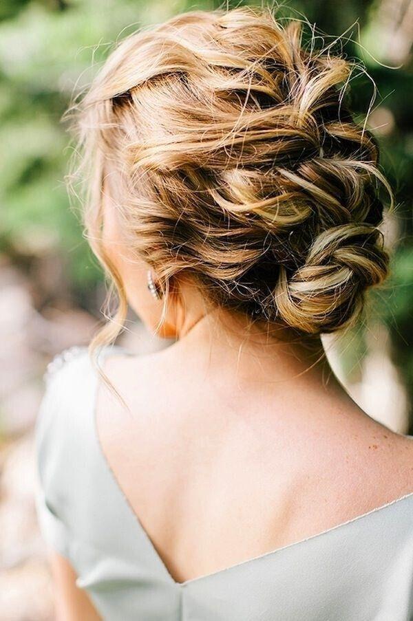 Stylish new braided updo hairstyles 2015 jere haircuts tagged french braided updo side braided updo side braided bun pretty twisty bun messy braided updo messy braided updo messy braided updo for prom pmusecretfo Gallery