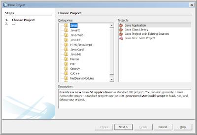 Kelas Informatika - Membuat Projek Baru Java Netbeans