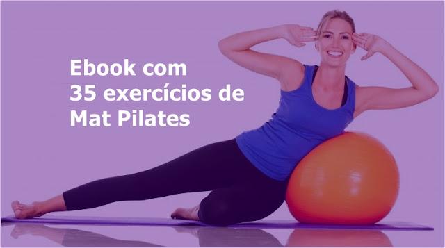 35 exercícios de Mat Pilates
