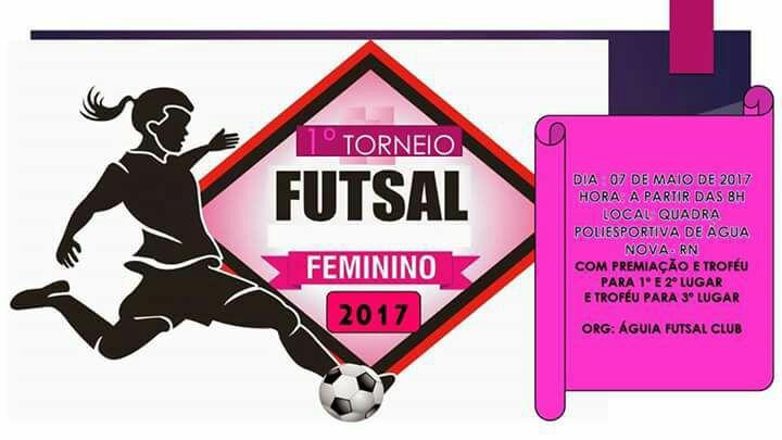 Esporte Jpenhense  VEM AÍ O I TORNEIO FEMININO DE FUTSAL EM ÁGUA ... df45764c46251