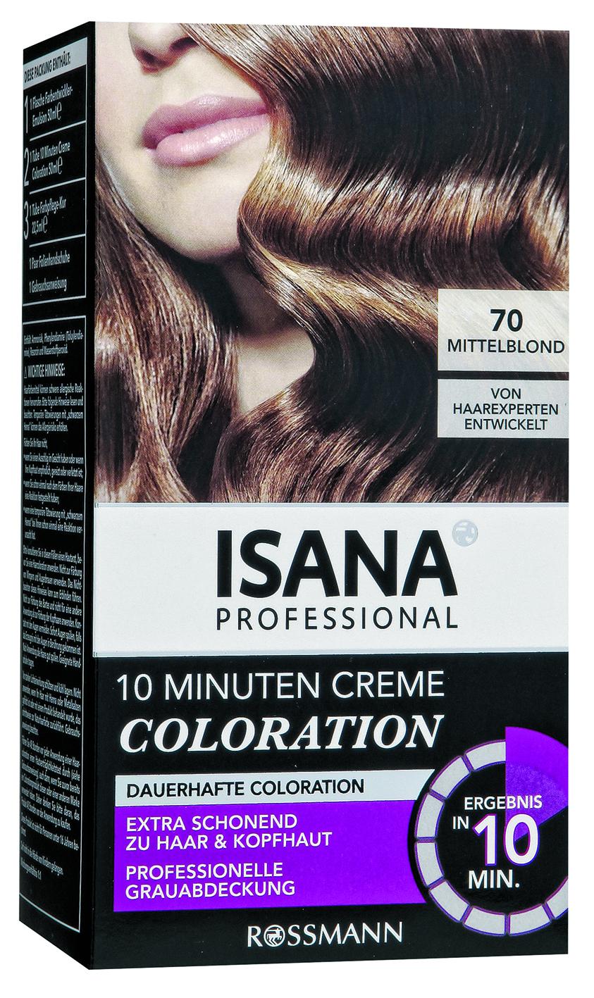 Isana haarfarbe 10 min