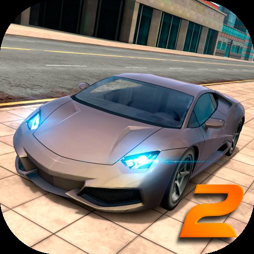 تحميل لعبة Extreme Car Driving Simulator 2 مهكرة وكاملة للاندرويد أموال لا تنتهي