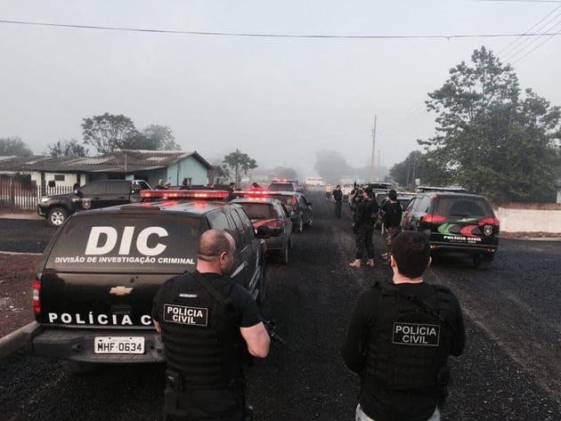 Polícia Civil prende bandidos no São Cristóvão em Três Barras