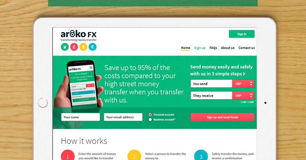 Aroko Fx Is The New Innovative Low Cost Solution For Money Transfers