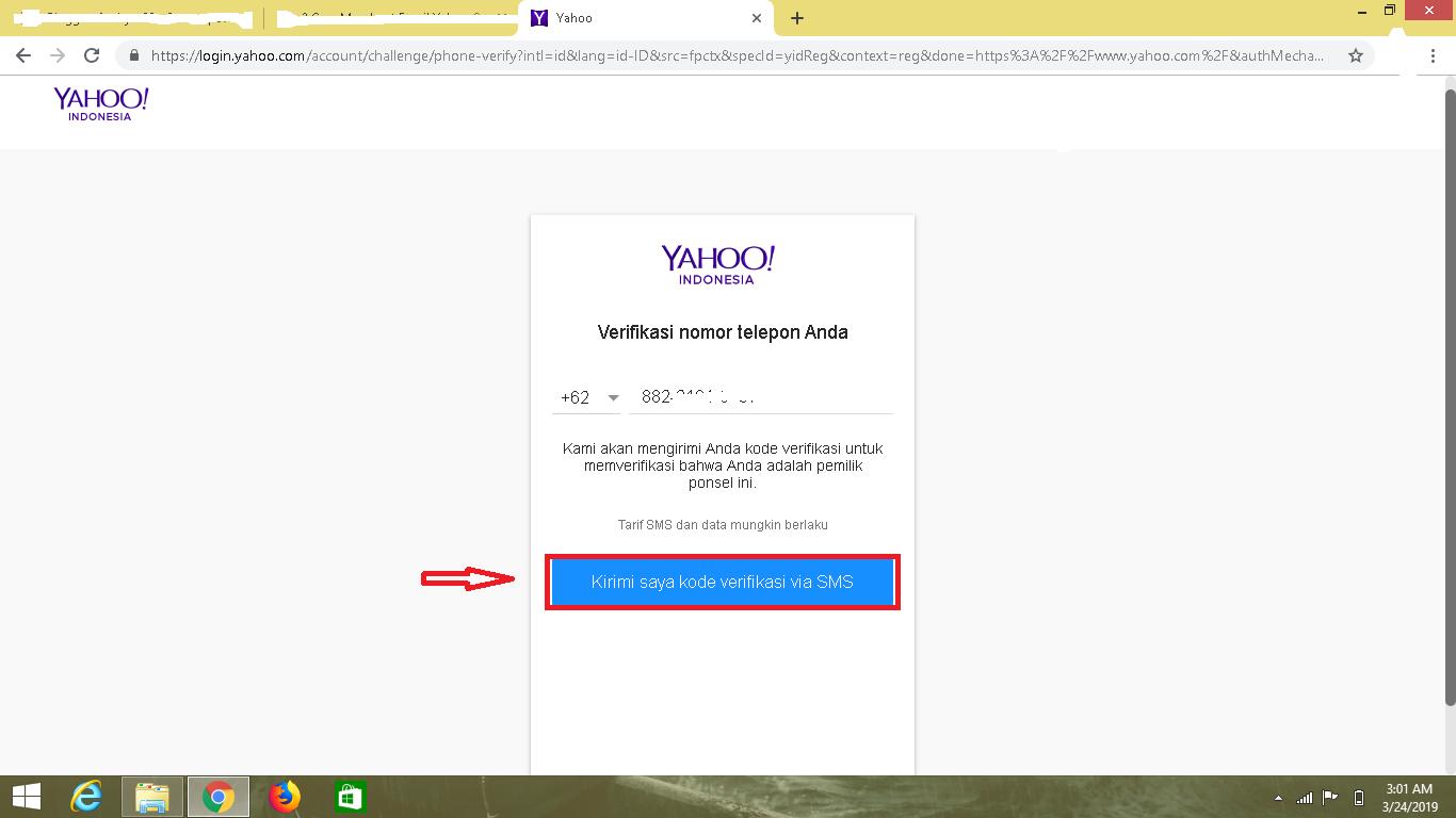 login yahoo com account challenge phone verify