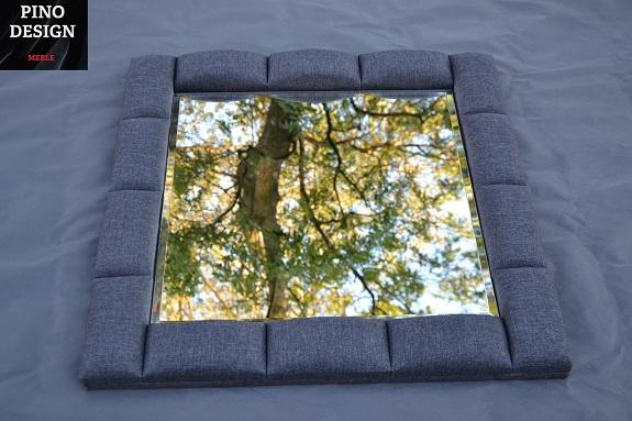 Stylowe lustra tapicerowane na wymiar i zamówienie