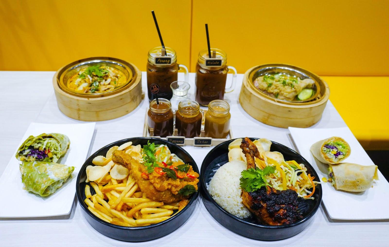 paradigm mall petaling jaya: new restaurants galore