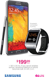 Samsung Galaxy Note 3 Galaxy Smartwatch