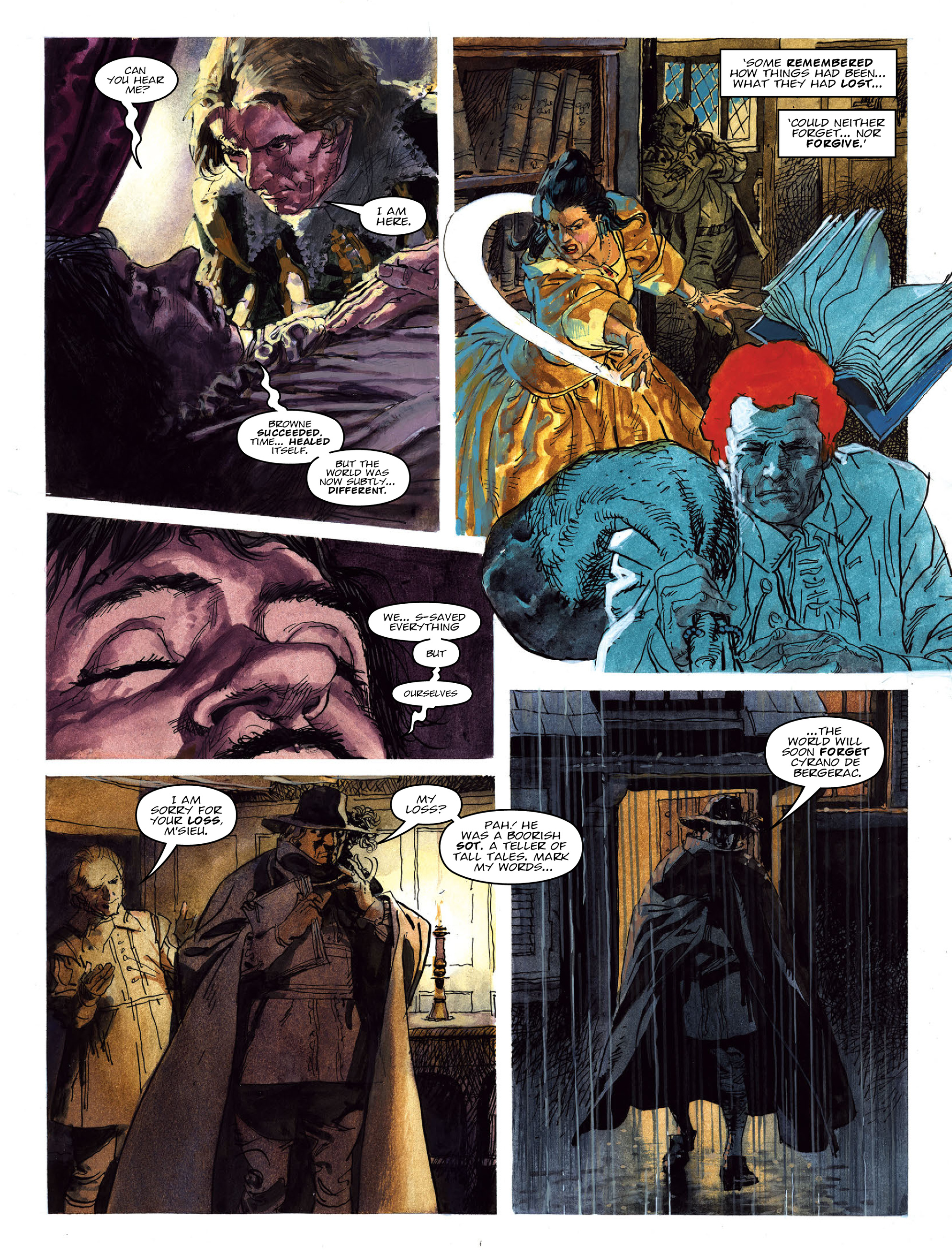 Read online 2000 AD comic -  Issue #2022 - 23