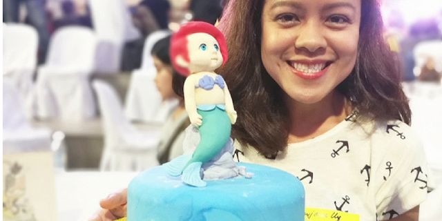 Goldilocks mermaid cake