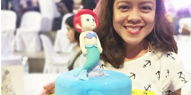 Goldilocks mermaid cake