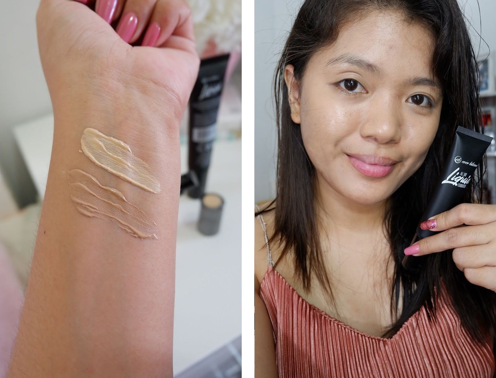 EVER BILENA: ALL DAY LIQUID FOUNDATION REVIEW
