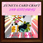 @19 mac : Zuneta card craft 2nd giveaway