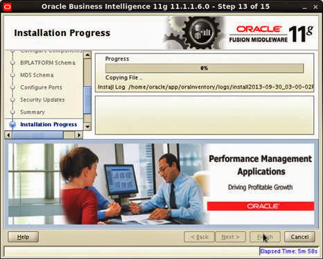 OBIEE 11G INSTALLATION IN LINUX 6