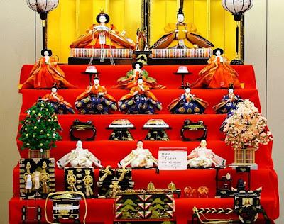 Festival Hina-Matsuri Jepang