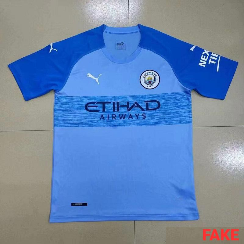 b58be50e8 Fake - This is NOT The Puma Manchester City 19-20 Home Kit - Footy ...