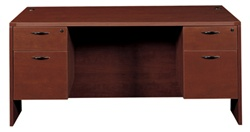 Amber Double Pedestal Desk