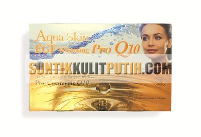 Aqua Skin EGF Whitening Pro Q10, Aqua Skin EGF Pro Q10, Aqua Skin EGF Pro Q10 Murah, Harga Aqua Skin EGF Pro Q10, Suntik Putih Aqua Skin EGF Whitening Pro Q10