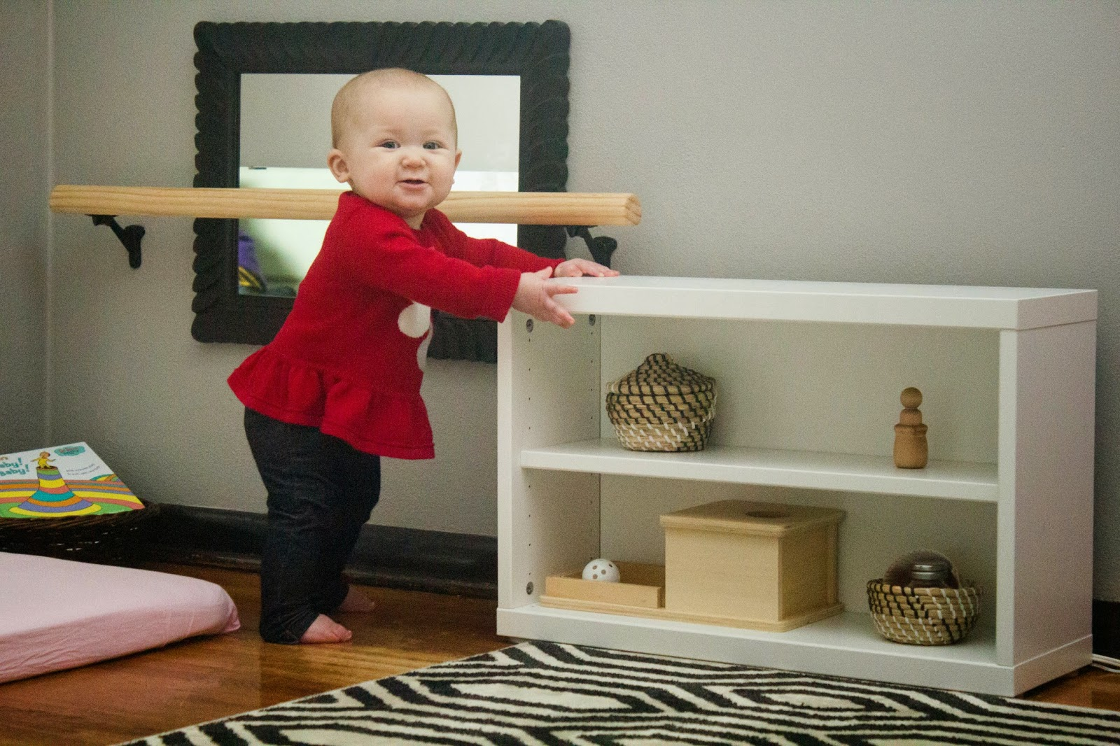 DIY Montessori Pullup Bar
