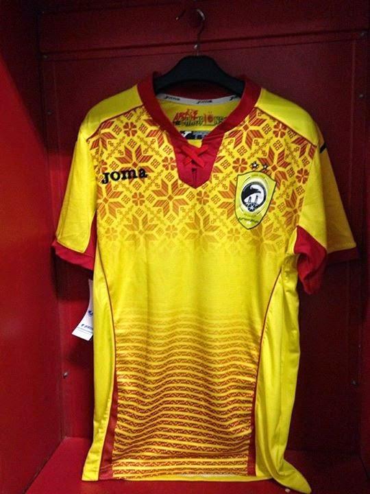 gambar jersey sriwijaya terbaru musim depan 2015/2016 kualitas grade ori made in thailand