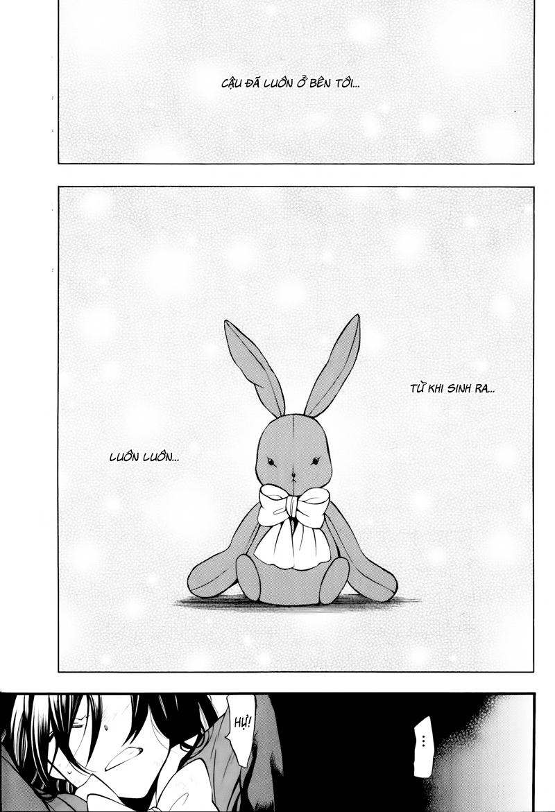 Pandora Hearts chương 074 - retrace - lxxiv broken rabbit trang 1
