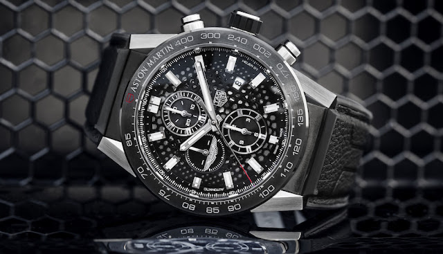 アストンマーティンにインスパイアされた限定コラボ腕時計がタグ・ホイヤーから登場。