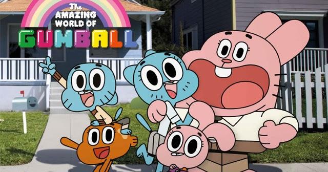 Gum Ball World The Amazing World of Gumball