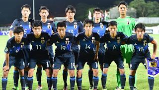Japan Under 17 fifa football squad