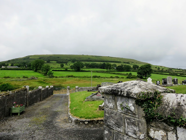 View of Knocknashee in Sligo, Ireland