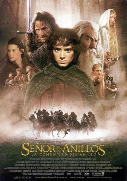 El Señor De Los Anillos: La Comunidad Del Anillo (Película), de 2001
