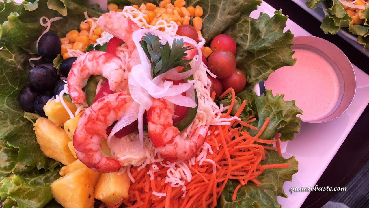 Salada de Camarão - O Âncora I