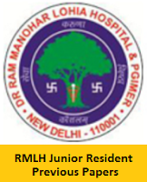 RMLH Junior Resident Previous Papers