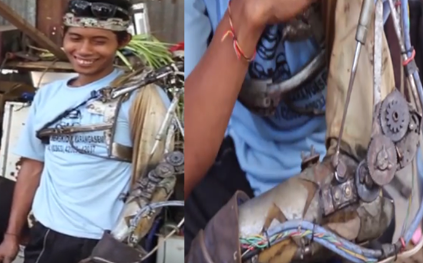 indonesian real life ironman