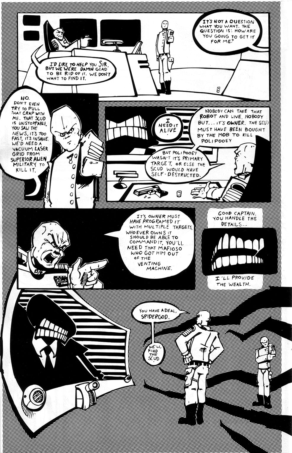 Read online Scud: The Disposable Assassin (1994) comic -  Issue #3 - 24