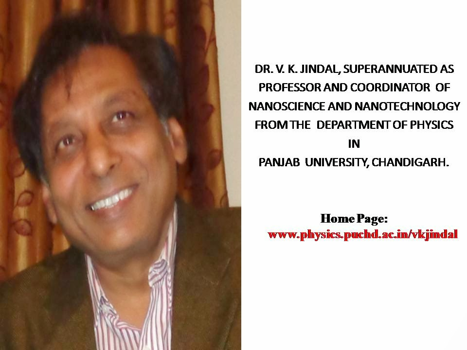 DR. V. K. JINDAL, SUPERANNUATED AS PROFESSOR