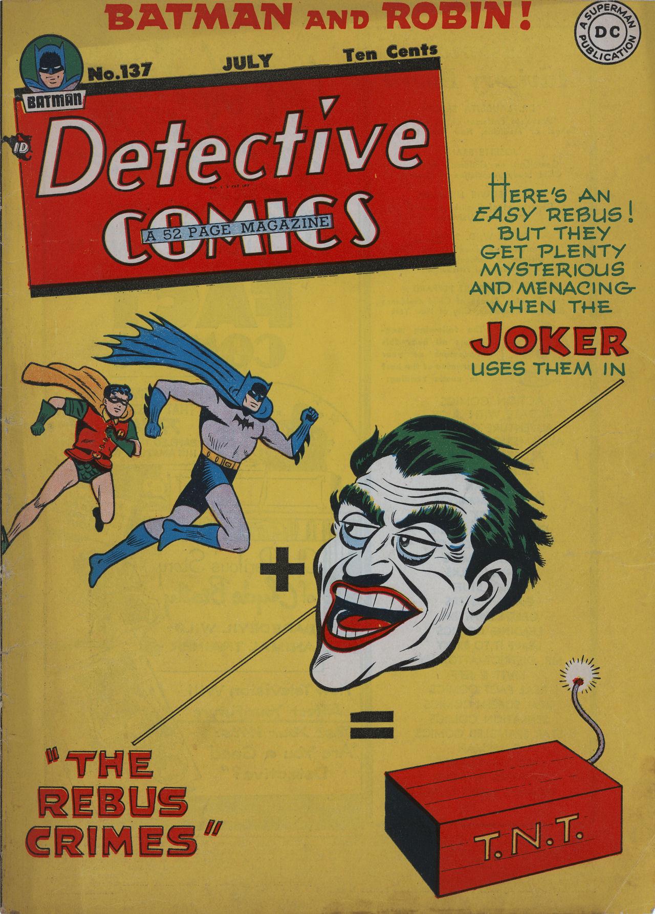 Detective Comics (1937) 137 Page 1