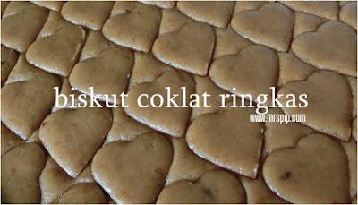 Resepi Biskut Coklat Ringkas