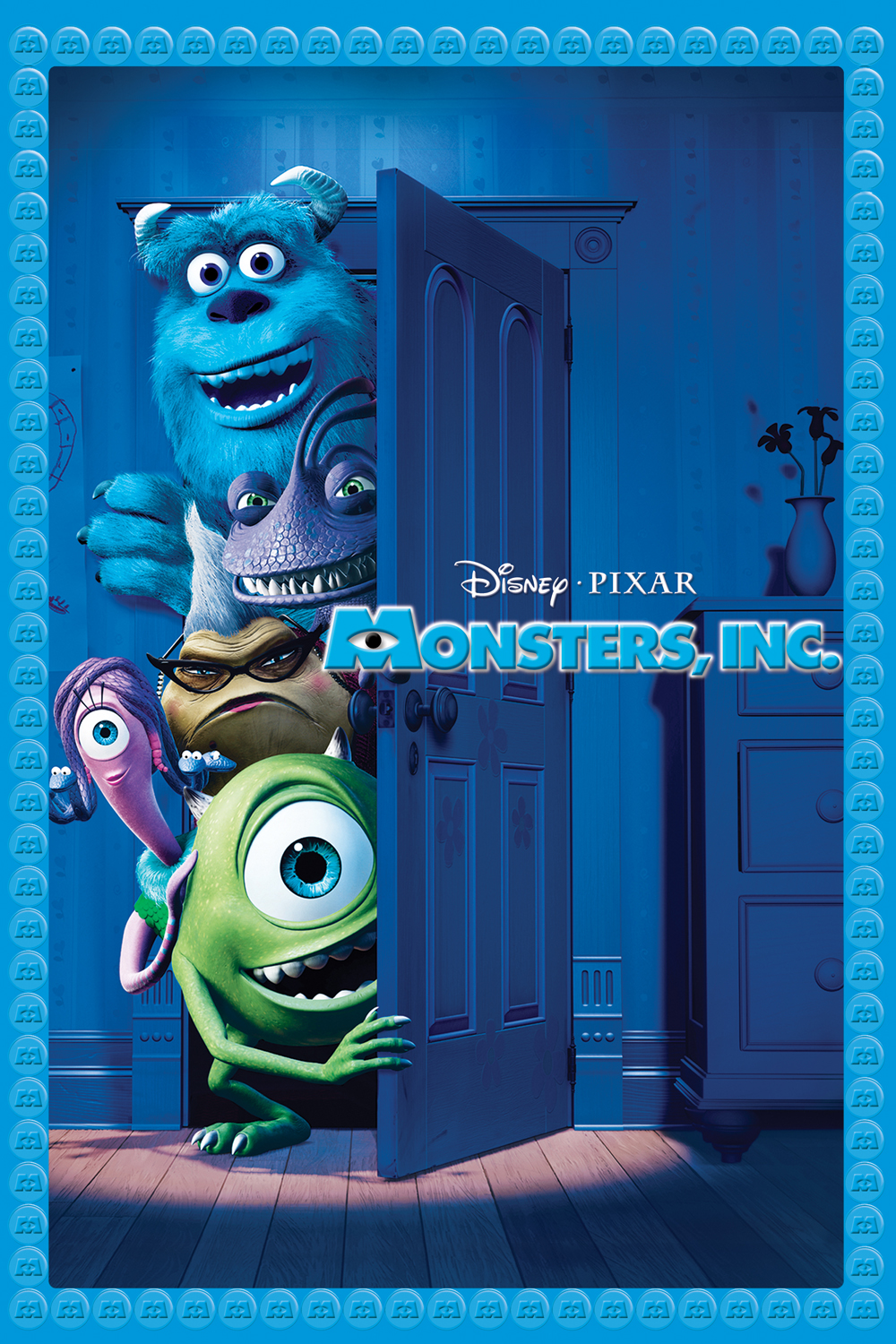 The Geeky Nerfherder Movie Poster Art Monsters Inc 2001