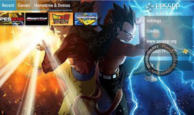 Emulator PPSSPP bisa Ganti Background Terbaru