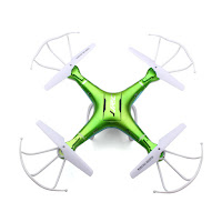 JJRC_H5P-Quadcopter_Green_Top_View