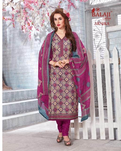 Balaji Arnika vol 7 Cotton printed Dress material wholesale