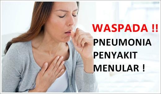Apakah Pneumonia Penyakit Menular ? Ini Jawabannya !